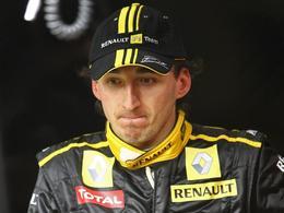 F1 : Robert Kubica roulera à l'automne