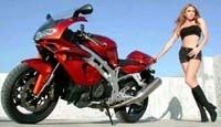 L'image de la femme à moto : erronée ?