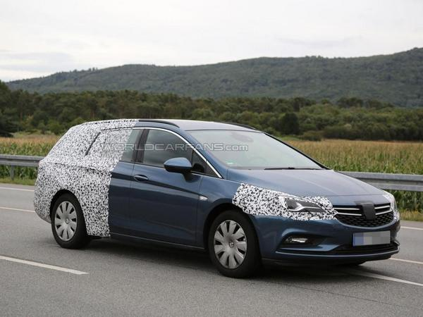 L'Opel Astra Sports Tourer se prépare