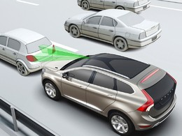 Le système anti-collision du Volvo XC60 fait significativement baisser le nombre d'accidents