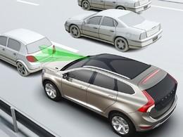 Le système anti-collision du Volvo XC60 fait significativement baisser le nombre d'accidents