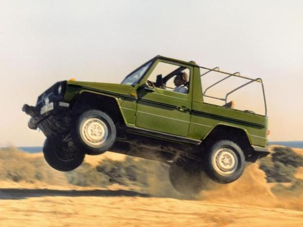 Mercedes - Un mini Classe G en préparation