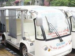 Eco-tourisme au Viêt Nam : des bus électriques en balade à Hanoï