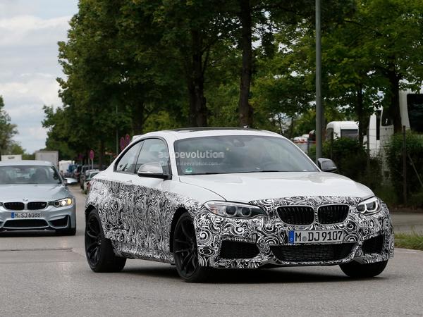 La BMW M2 confirmée en boîte manuelle ?