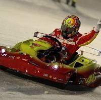 Moto GP - Ducati: Les rouges font du ski en vidéo