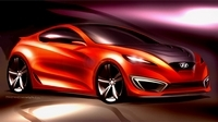 Salon de Los Angeles : Hyundai Genesis Coupé Concept