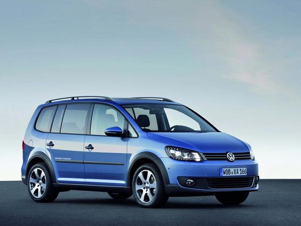 Officiel : nouveau Volkswagen CrossTouran