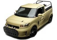 SEMA Show : Scion xB L-Con City Safari Pick-up Concept by Sage Vaughn