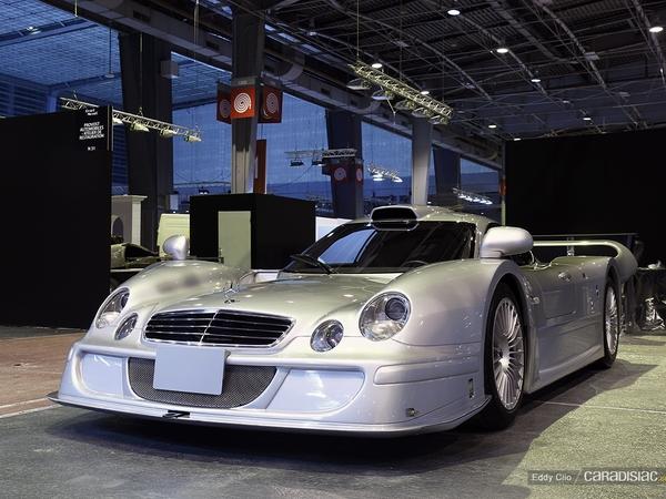 Photos du jour : Mercedes CLK LM Road Legal (Rétromobile)