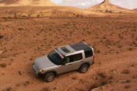 Land Rover Discovery 3 Atlantic: bon vent