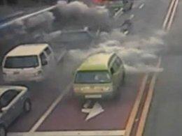Un bus au GNV explose dans les rues de Séoul : 17 personnes blessées