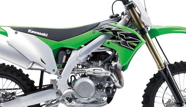 Nouveauté 2019: Kawasaki KX-F 450