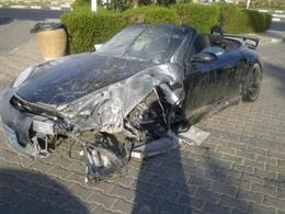 Une Porsche 911 Turbo S cabriolet se crashe à Sharm el Sheikh en Egypte