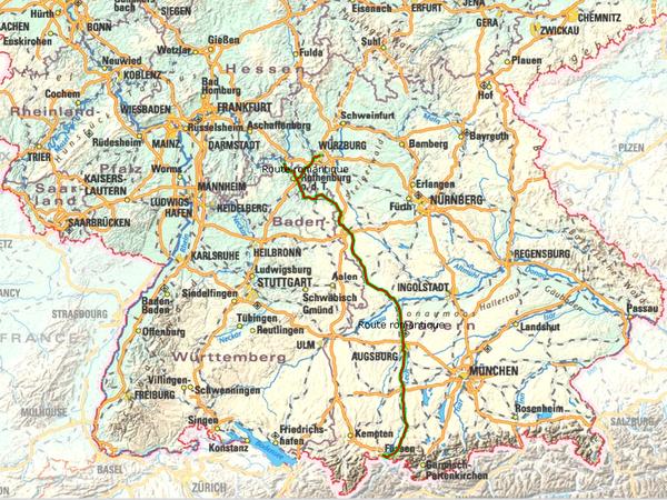 Eco Tourisme En Allemagne La Route Romantique C 233 L 232 Bre