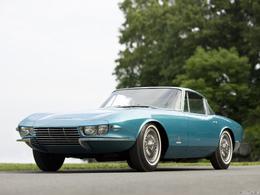 Réponse du quizz du 8 juillet: c'était la Corvette C2 Rondine !