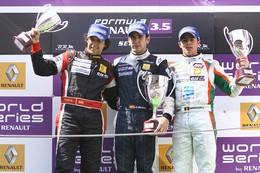 WSR Formula 3.5: Martinez en trombe devant son public