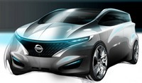 Salon de Detroit : Nissan Forum Concept