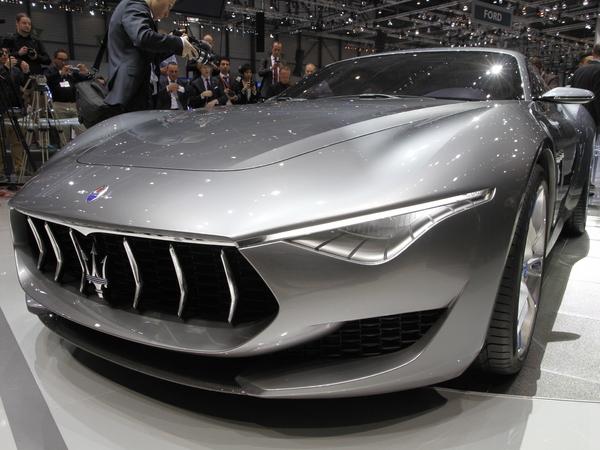 "En direct de Genève 2014 -  Maserati Alfieri concept, la ""petite"" prometteuse"