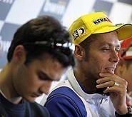 Moto GP - Pedrosa en Bridgestone: Rossi s'interroge et prévient