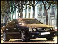 La photo du jour: Mercedes CL 55 AMG