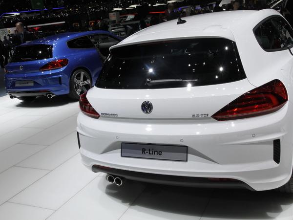 En direct de Genève 2014 - Volkswagen Scirocco restylé, pour durer encore un peu