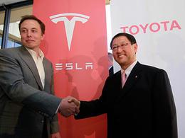 Toyota passe contrat avec Tesla pour 100 millions de $ de batteries et transmissions électriques