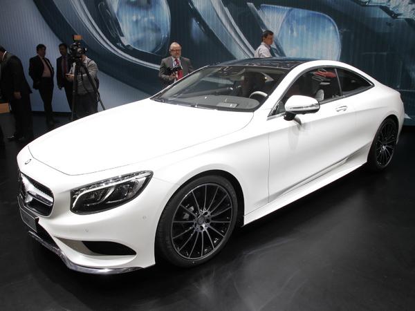 Vidéo en direct de Genève 2014 - Mercedes Classe S Coupé, gros standing