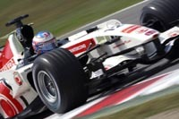 Honda et Williams sur le circuit de Vallelunga