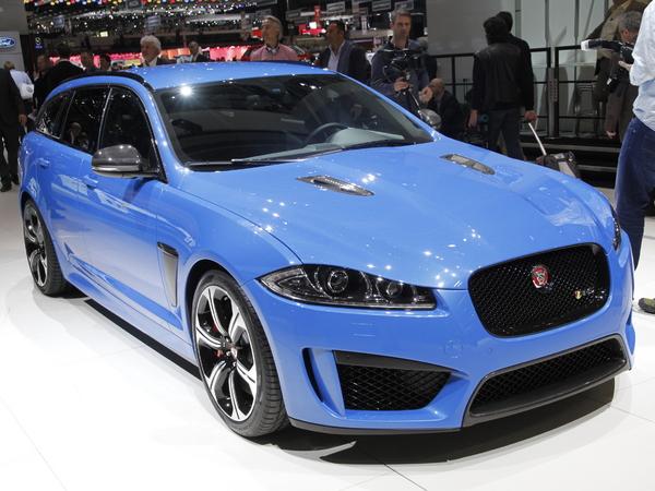 En direct de Genève 2014 - Jaguar XF R-S Sportbrake, les joies des transports en commun