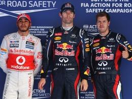Qualif. F1 et WEC: Webber (Red Bull) et Toyota en pole