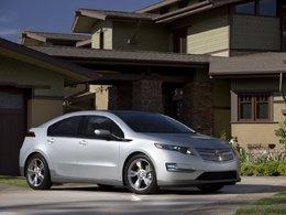 Chevrolet Volt électrique : un objectif de production de 45 000 exemplaires en 2012
