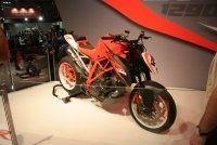 En direct du Salon de Milan : Prototype KTM 1290 Super Duke R