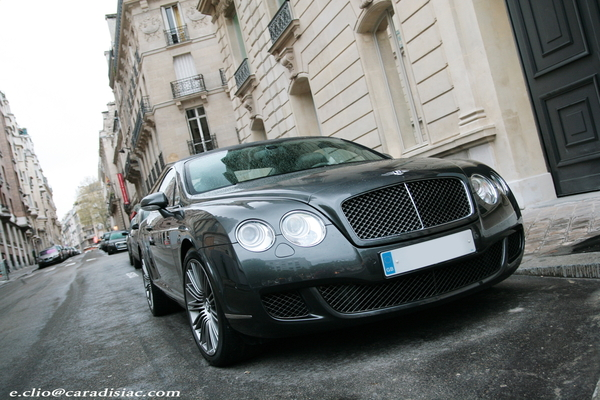 Photos du jour : Bentley Continental GT Speed