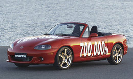 La Mazda MX5 est le cabriolet le plus fabriqué au monde