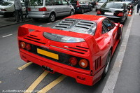 Photos du jour : Ferrari F40