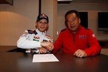Moto GP: Stefan Bradl a assuré son avenir chez Honda jusqu'en 2014