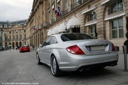 Photos du jour : Mercedes CL 63 AMG