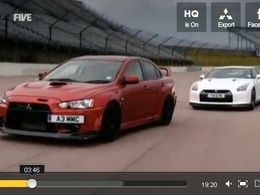 5th Gear : Nissan GT-R vs Mitsubishi Lancer FQ400, Audi A1 et Tesla Roadster S