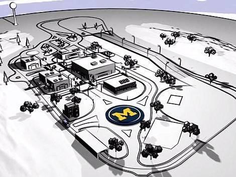Mcity: la ville où les voitures sont autonomes