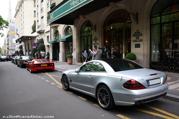 Photos du jour : Mercedes SL65 AMG
