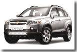 Chevrolet Captiva : la gamme, les prix