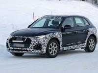 L'Audi Q5 restylé en classe de neige