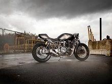 Actualité moto - En direct du Salon de Milan: Sous le vintage Yard Built la Yamaha XJR1300