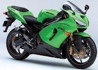 Essai du Kawasaki ZX 6R 2005