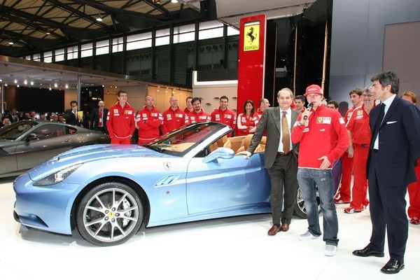 Ferrari California: elle débute en Asie avec Raïkkönen