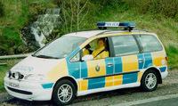 Angleterre : accident d'un policier surpris par un radar