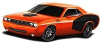 SEMA Show : Dodge Challenger 'Cuda by HXC Performance