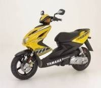 Scooter Yamaha Aerox R 50cc : Une nouvelle couleur.
