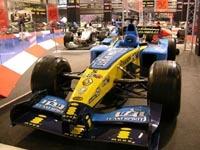 Le Team Renault F1 à Séville