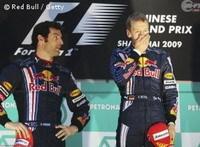 F1-GP de Chine: Les organisateurs se sont trompés d'hymne pour Reb Bull !